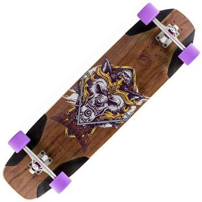 Mindless Longboards MV6000 Voodoo Malaki Single Kick Complete Longboard - Purple