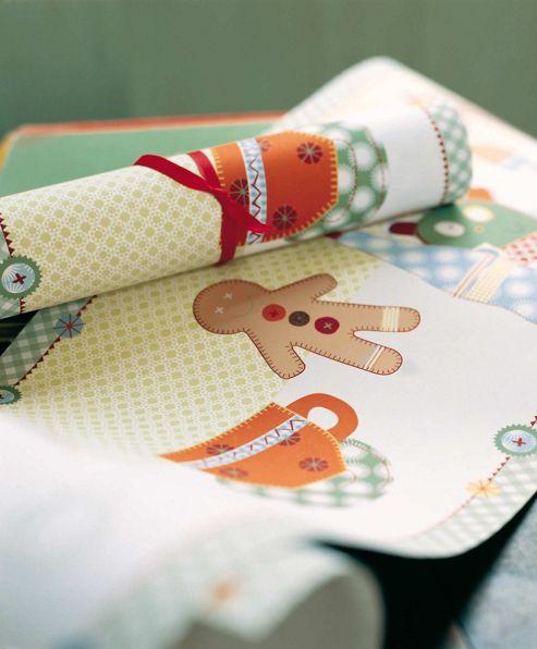 Mamas & Papas - Gingerbread - Wallpaper Border