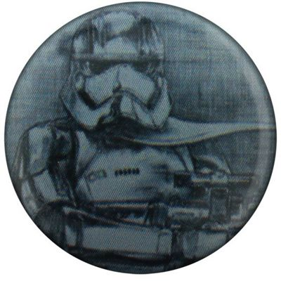 Star Wars Episode VII The Force Awakens Captain Phasma Sketch Badge