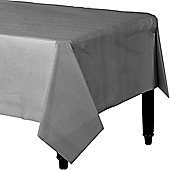 Silver Plastic Tablecover - 1.4m x 2.8m