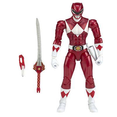 Power Rangers Legacy 16.5cm Figure - Metallic Red
