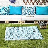 Dream Design Large 'Bella' Picnic Rug with Water Resistant Fabric and Foam Padded Backing