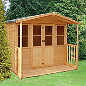Houghton Summerhouse 7x7 with veranda by Finewood