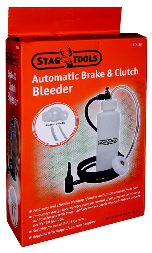 Buy Stag Hydraulic Brake Bleeder Kit from our Workbenches