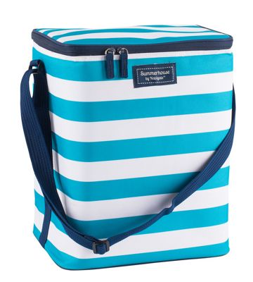 Summerhouse Coast 20L Upright Family Cooler Bag, Aqua