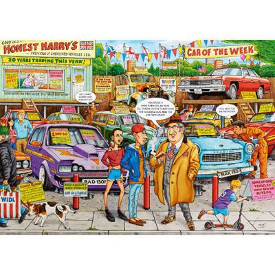 Best of British - Used Car Lot - 1000pc Puzzle