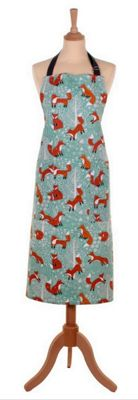 Ulster Weavers Foraging Fox Design Cotton Drill Adult Apron