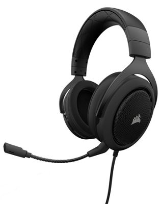Corsair HS60 7.1 Surround Gaming Headset - Carbon Black