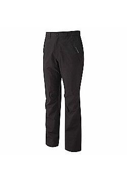 Craghoppers Mens Stefan Waterproof Breathable Stretch Trousers - Black