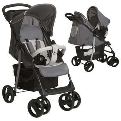 Hauck Shopper SLX Shop n Drive Travel System (Stone/Grey)