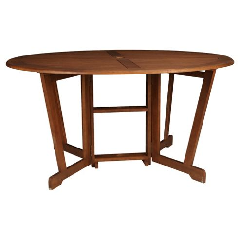 Windsor Wooden Round Gateleg Garden Table - 150cm