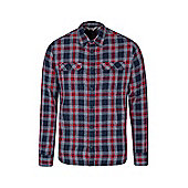 Mountain Warehouse Trace Mens Flannel Long Sleeve Shirt ( Size: XS )