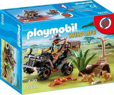 Playmobil Evil Explorer with Quad