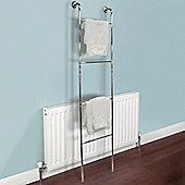 Ladder - Chrome Wall Mounted 4 Rung Towel Rail