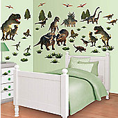 Walltastic Dinosaur Land Room Decor Kit - 51 Stickers