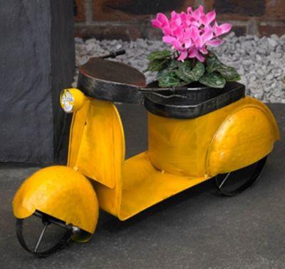 Craftsman NP6 Vintage Moped Planter, Transparent, 55 x 30 x 20 cm