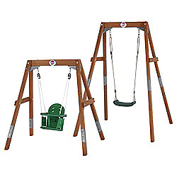Plum 2 in 1 Wooden Swing