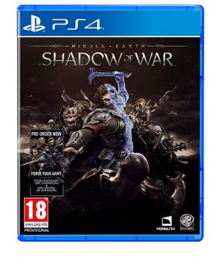 MIDDLE EARTH-SHADOW OF WAR PS4