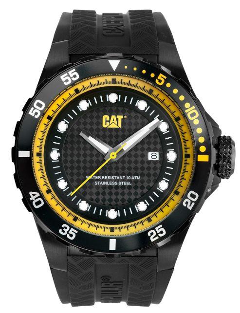 CAT P52 Sport Mens Rubber Date Watch YN.161.21.124