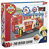 Fireman Sam Fire Rescue Centre Die-Cast Playset