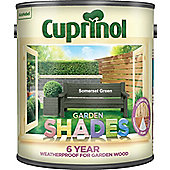 Cuprinol Garden Shades - Somerset Green - 2.5 Litre