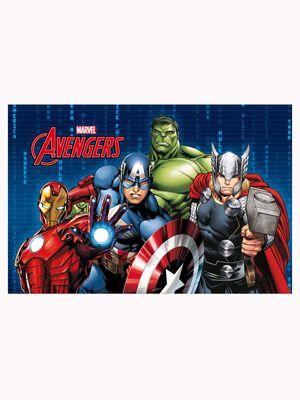 Marvel Avengers Blue Floor Mat 40cm x 60cm