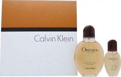 Calvin Klein Obsession Gift Set 125ml EDT + 30ml EDT For Men