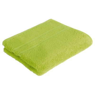 Tesco 100% Combed Cotton Hand Towel Lime Green