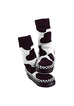 Mocc Ons 18-24 months Cow Print