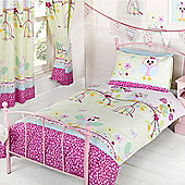 Twit Twoo Owls Single Duvet Cover and Pillowcase Set