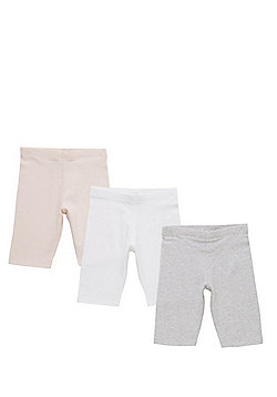 F&F 3 Pack of Cycling Shorts - Multi