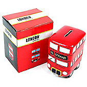 Children's Money Box - London Bus, Money Boxes for Children, Children's Gifts, Christening Gifts
