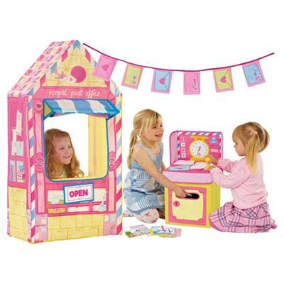 Love My Street Penpal Post Office Playhouse Tent with Counter