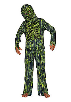 F&F Slime Swamp Zombie Halloween Costume - Green