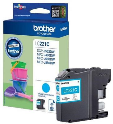 Brother LC221C Ink Cartridge LC221C