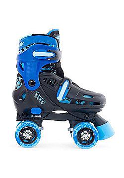SFR Storm II Black/Blue Quad Roller Skates - Blue