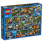 LEGO City Jungle Explorers Jungle Exploration Site 60161