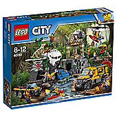 LEGO City Jungle Explorers Jungle Exploration Site 60161 Best Price, Cheapest Prices