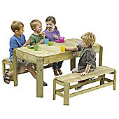 Plum Wooden Activity Table