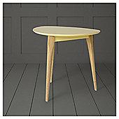 Pebble Side Table Ochre