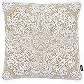 Rocco Portobello Natural Cushion Cover - 43x43cm