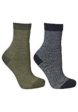 Trespass Boys Dipping 2 Pack Sock - Multi