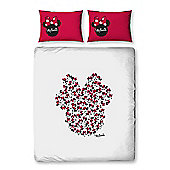 Minnie Mouse Icon Double Duvet Cover and Pillowcase Set