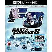 Fast And Furious 8 4K Blu-Ray 2Disc
