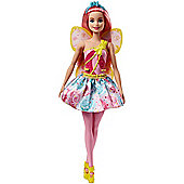 Barbie Fairy Doll - Pink Hair