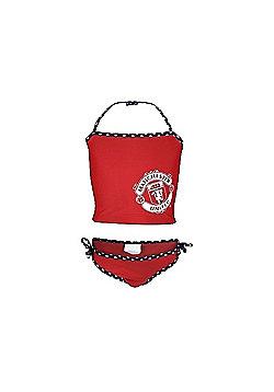 Manchester United FC Ladies Tankini - Red