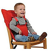 Cuddles Collection Portable Highchair Seat (Red)