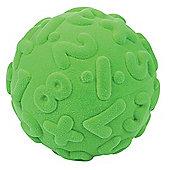 Rubbabu Numerals Ball (Green)