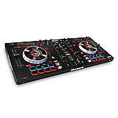 Numark Mixtrack Platinum 4-Deck DJ Controller with Built-in Jog Wheel Displays
