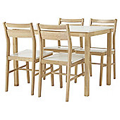 Hatten Table And Four Chair Set